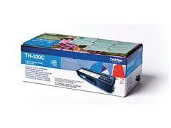 Brother TN-320C Toner, single pack, cyaan