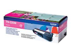 Brother TN-320M Toner, single pack, magenta