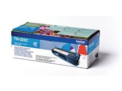 Brother TN-325C Toner, hoog rendement, single pack, cyaan