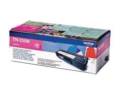 Brother TN-325M Toner, hoog rendement, single pack, magenta