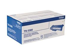 Brother TN-3380 Toner, Hoog Rendement, Zwart
