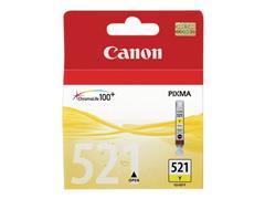Canon CLI-521 Inktcartridge, Geel