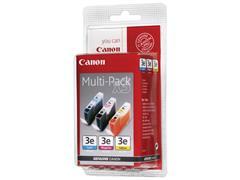Canon BCI-3E Inktcartridge, Kleur (pak 3 stuks)
