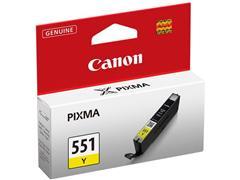 Canon CLI-551 Inktcartridge, Geel