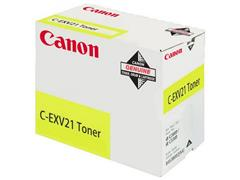 Canon C-EXV21 Toner, Single Pack, Geel