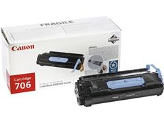 Canon 706 Toner, Single Pack, Zwart
