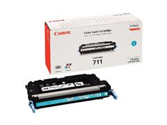 Canon 711 Toner, Single Pack, Cyaan