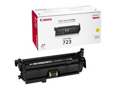 Canon 723 Toner, Single Pack, Geel