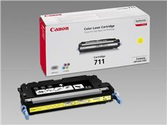 Canon 711 Toner, Single Pack, Geel