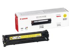 Canon 716 Toner, Single Pack, Geel
