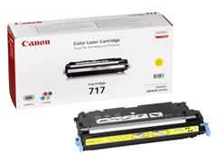 Canon 717 Toner, Single Pack, Geel