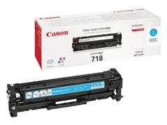 Canon 718 Toner, Single Pack, Cyaan