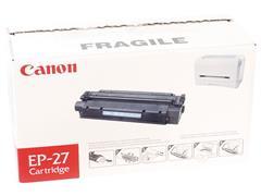 Canon EP-27 Toner, Single Pack, Zwart