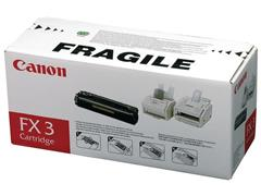 Canon FX-3 Toner, Single Pack, Zwart