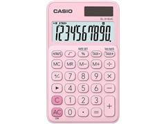 Casio SL-310UC, Rekenmachine, 10-cijferig display, Roze