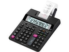 Casio HR-200RCE Telmachine, 12-Cijferig, Zwart