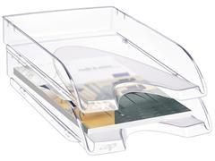 Cep Pro 200 brievenbak, polystyreen, 345 x 260 x 64 mm, crystal
