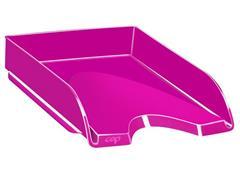 Cep Gloss 200+ G brievenbak, polystyreen, 348 x 257 x 66 mm, roze