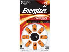Energizer EZ13 Knoopcel Batterij, 1,4 V (pak 6 x 8 stuks)