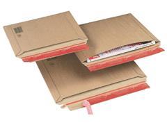 ColomPac Kartonnen envelop met dwarsvulling B5+, 270 x 185 x 50mm (pak 20 stuks)