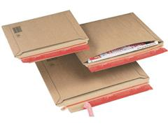 ColomPac Kartonnen envelop met dwarsvulling C4, 340 x 235 x 35mm (pak 20 stuks)