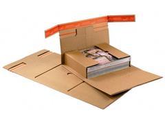 ColomPac Wikkelverpakking ordner, zelfklevend, 322 x 292 x 35-80mm (pak 20 stuks)
