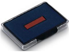 Colop Inktkussen Rood/blauw, 4420, 4425, 4460, 4465 en 4620 (blister 2 stuks)