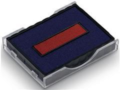 Colop Inktkussen Rood/blauw, 4750, 4750/L en 4755 (pak 2 stuks)