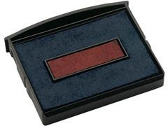 Colop Reserve kussen t.b.v. zelfinktende stempels E/2100/2 rood/ blauw voor 2160RL (pak 2 stuks)