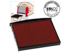 Colop Reserve kussen t.b.v. zelfinktende stempels E/2800 rood voor 2800 (pak 2 stuks)