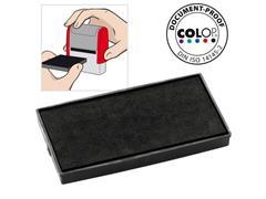 Colop Reserve kussen t.b.v. zelfinktende stempels E/50 zwart voor Printer 50 Microban (pak 2 stuks)