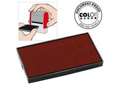 Colop Reserve kussen t.b.v. zelfinktende stempels E/60 rood voor Printer 60 Microban (pak 2 stuks)