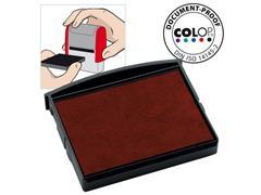 Colop Inktkussen E/2100, Zelf-inktende Stempels, Rood (pak 2 stuks)