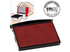 Colop Inktkussen E/2600, Zelf-inktende Stempels, Rood (pak 2 stuks)