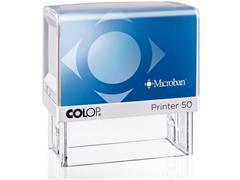 Colop Stempel - zelfinktend voor dagelijks gebruik Printer 50 Microban, 69 x 30 mm, max. 7 regels