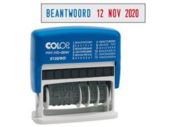 Colop Woorddatumstempel Mini Info-Dater S120/WD - Nederlands
