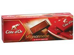 Cote d'Or Mignonnette chocolade Melk (doos 120 stuks)