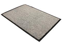 Doortex Advantagemat, vloermat, rechthoekig, zwart/grijs, 90 x 150 cm