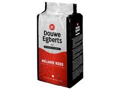 Douwe Egberts Standaardmaling koffie Roodmerk, Inhoud 6 x 1000 gram (doos 6 kilogram)