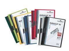Durable Klemmap Duraclip® 1-30 vel, assorti (pak 25 stuks)