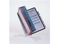 Durable VARIO® tafeldisplaysysteem, 10 compartimenten, A4, assorti