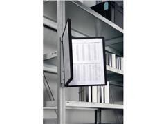 Durable Zichtpaneel wandhouder Vario® magnet wall 5 Inclusief 5 zichtpanelen