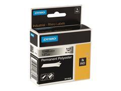 Dymo DYMO RhinoPRO Permanent Polyester - tape - 1 rol(len) - Rol (1,2 cm x 5,5 m)