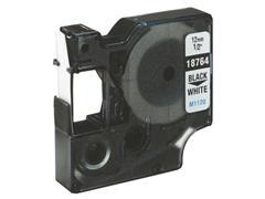 Dymo Rhino Polyester Etikettencassette, 9 mm x 3 m, Wit op Groen