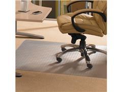 ECOTEX EvolutionMat Vloermat tapijt, rechthoekig, verbeterd polymeer, 50% gerecycled materiaal, transparant, 900 mm x 1200 mm
