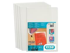 Elba M-Star Zichtmap L-Model, A4, PVC, 150 micron, Melkwit (pak 10 stuks)