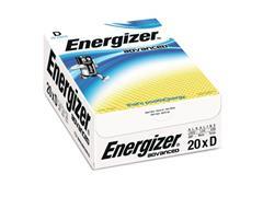 Energizer Advanced D Batterij, 1,5 V (pak 20 stuks)