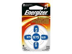 Energizer EZ675 Knoopcel Batterij, 1,4 V (doos 6 x 4 stuks)