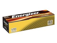 Energizer Industrial 9V Batterij, 9 V (pak 12 stuks)