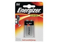 Energizer Max 9V Batterij, 9 V (blister 1 stuk)